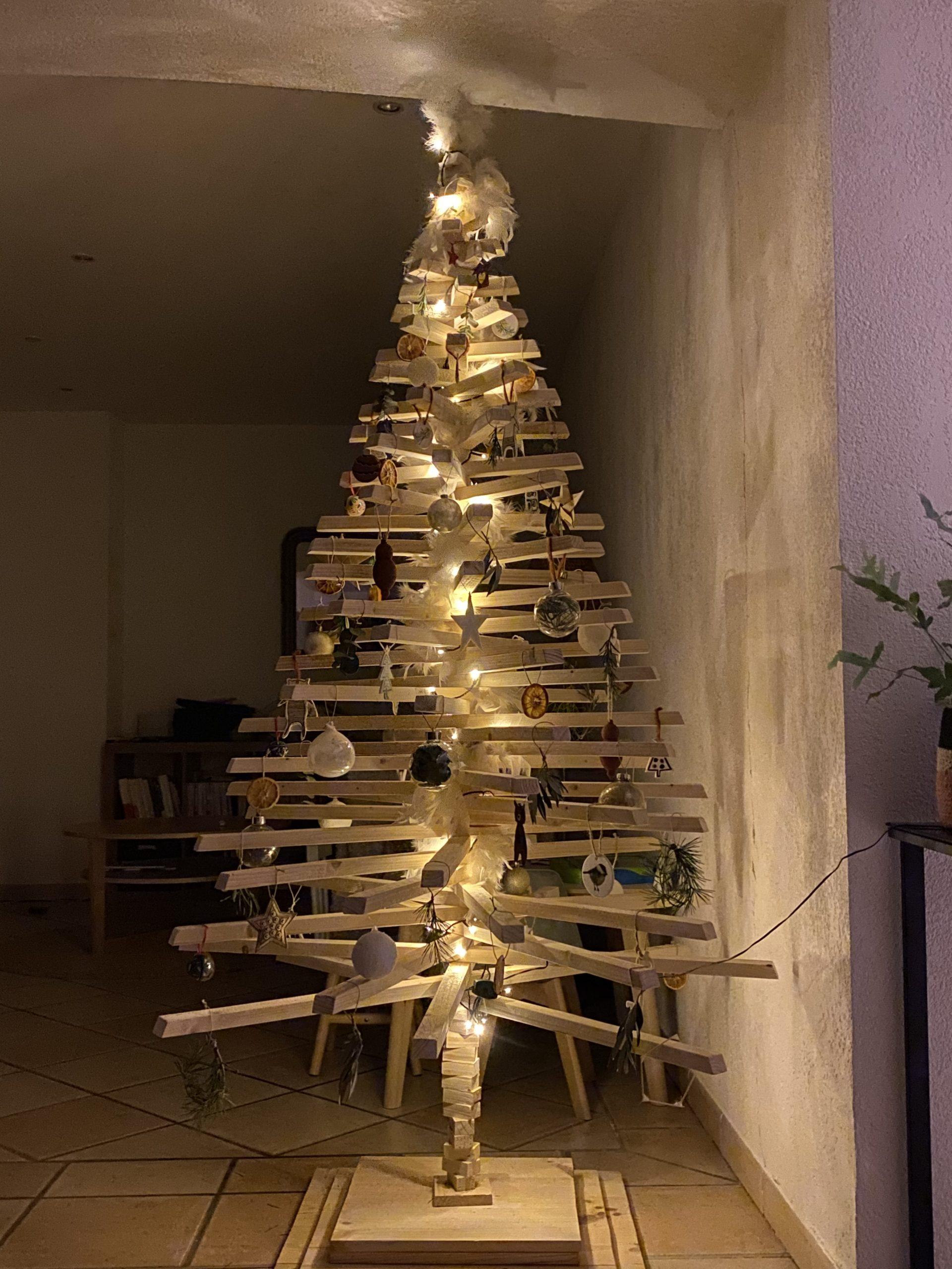 Sapins de Noël : d'autres formes à fabriquer …